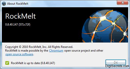 RockMelt Browser Got Update  Now Supports Chrome Web Store