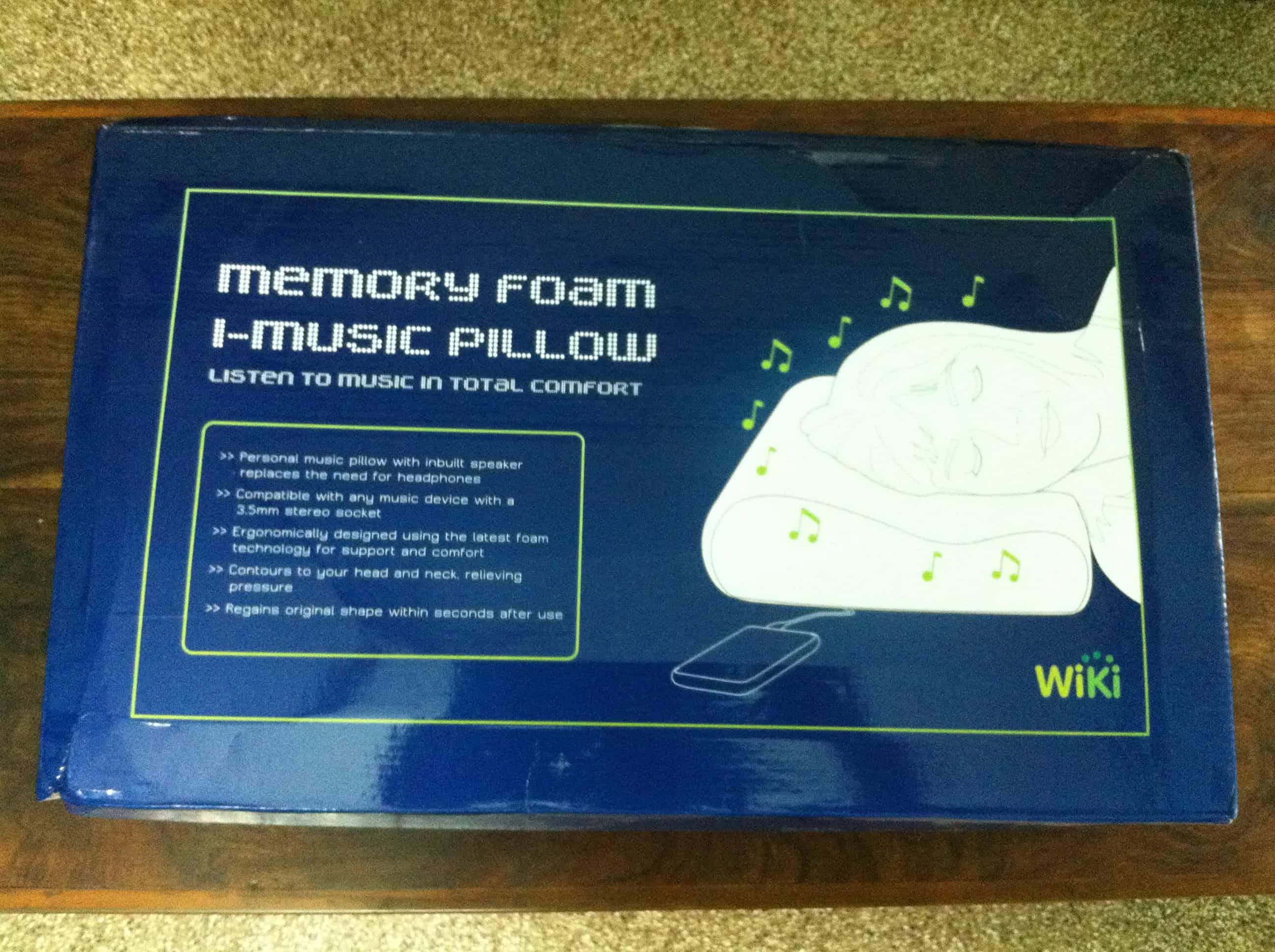 Imusic Memory Foam Pillow Review Digisecrets