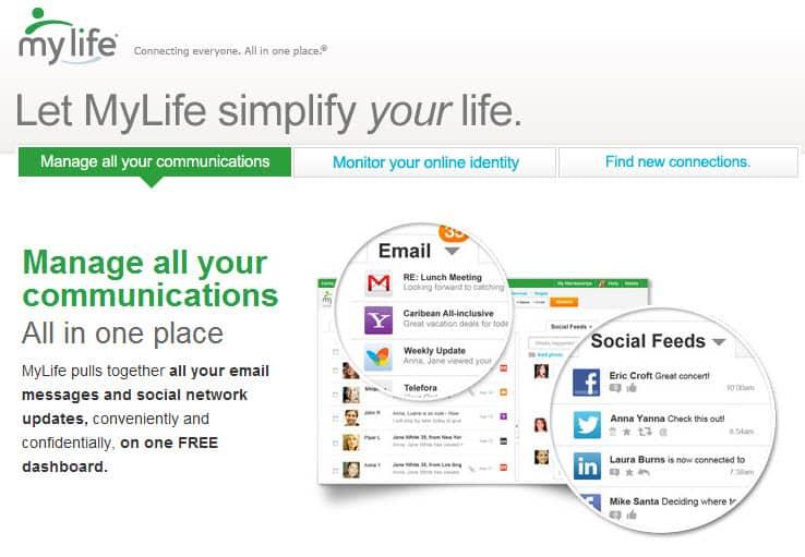 My life com free search