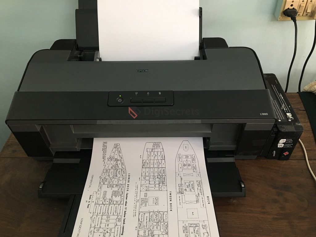 Epson L1300 - A3 Color Ink Tank Printer Review | DigiSecrets